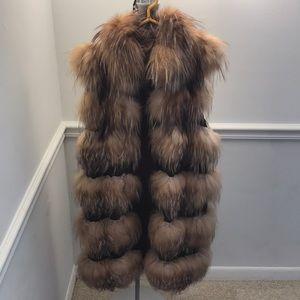 Saga Fox Fur Vest